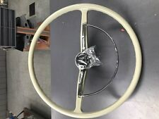VW bug Beige/ off white color reproduction Steering Wheel 1965-1971