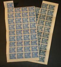 Romania 1940 Coat Of Arms Balkan Entente Sc#504-505 Mnh Sheet Block Pair Set