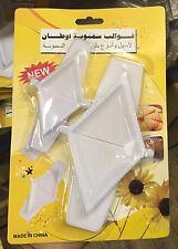 2 x triangle à charnière moule presse pour samosa raviolis boulette pâtissier