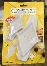 2 x Triángulo Con Bisagras Molde Prensa Para Pastel De Samosa Ravioles Dumpling Maker
