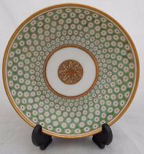 Antique Paris Porcelain Saucer Dish Hand Painted Oiel De Perdrix 18th Century