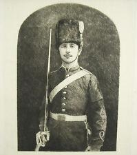 Louis-Napoléon IV Bonaparte le jour de sa mort Juin 1879 Ricardo DE LOS RIOS sc