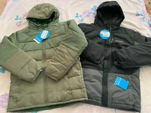 $95-$100 Size XL (18 - 20) Columbia Youth Boy Water Resistant Puffer Coat Jacket