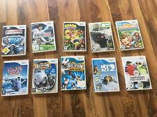 10 Nintendo Wii Spiele Sammlung Konvolut