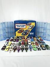 VTG Collectors Car Case TARA TOY CORP 48 Vehicles matchbox Hotwheels Etc