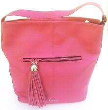 Sconto Liu Jo Borsa Shopping Modello Hobo Bag Eubea  Eco Pelle Colore Azalea