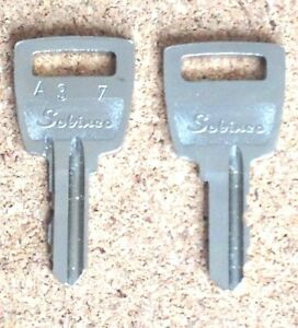 2 x Sobinco A37 Upvc Window Handle Key