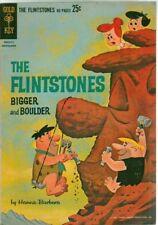 Flintstones Bigger and Boulder #1  Gold Key Comics 1962  Hanna-Barbera Giant