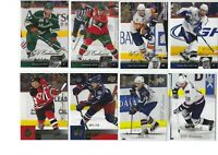 UD Upper Deck Exclusives lot of 8 Base cards /100 Naslund Madden Cullen L@@k