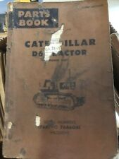 Cat Caterpillar D6 Crawler Tractor Dozer Parts Manual Book S/N 76A00001-76A06061
