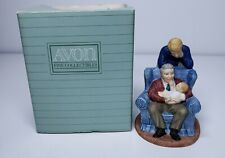 Passing Down the Dream Avon figurine grandfather Father's Day 3 generations 1991