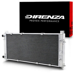 DIRENZA 40mm ALUMINIUM RADIATOR RAD FOR VW TRANSPORTER T4 1.9 2.0 2.4 2.5 91-96