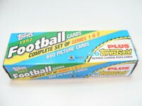 1992 Topps Football Cards Complete Set Of Series 1& 2 New Sealed