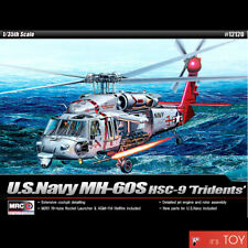 Academy 1/35 U.S.Navy MH-60S HSC-9 TRIDENTS Helicopter Plastic model kit #12120