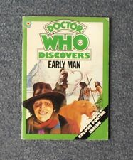 Doctor Who Discovers Early Man Target Wyndham Book 1977 Tom Baker Era Inc Poster