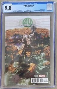 Age of Ultron #10 1st Angela in Marvel #1:50 Brooks Variant 2013 CGC 9.8 White
