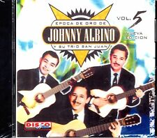 "JOHNNY ALBINO EPOCA Y SU TRIO SAN JUAN - "" LA EPOCA DE ORO VOL.5"" - CD"