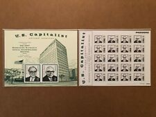 BERKSHIRE HATHAWAY 2007 U.S. CAPITALIST STAMP SERIES WITH PLACARD OMAHA NEBRASKA