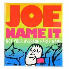 Gamewright JOE NAME IT Card Game - Trivia Party Game