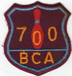 RARE VINTAGE BOWLING BCA 700 SERIES PATCH