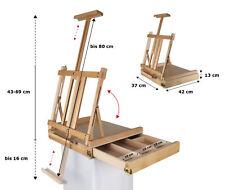 Professionelle Tischstaffeleien vom Fachhandel, Buchenholz FSC®, Höhe bis 80 cm