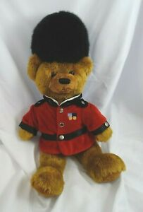 Harrods Teddy Bear Plush Knightsbridge Guard Queens Palace England 14""