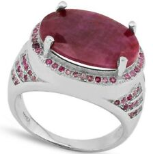 Amazing huge Ruby and Pink Sapphire ring
