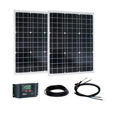 Solar Panel Kit 100W (2x50W) 12V, Steca PR 1010 10A 12/24V & set of cables