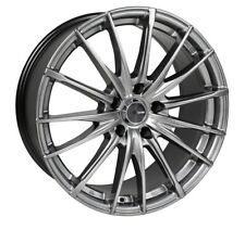 15x6.5 Enkei PFS 5x114.3 +38 Hyper Grey Rims Fits Eclipse Talon Civic Type R