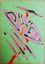 SERGIO DANGELO, Dipinto opera unica su tela, Tecnica mista Anni '70, Certificato
