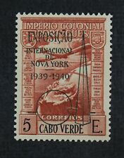 CKStamps: Portugal Cape Verde Stamps Collection Scott#C7A Mint NH OG Overprint