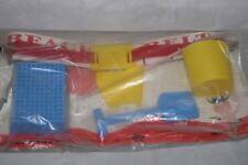 Vintage Ideal Beach Belt Sand Toys Plastic Unused Complete HTF