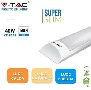 V-TAC PLAFONIERA LED 120 cm 40W CORPO ALLUMINIO VT-8040 SUPER SLIM SPESSORE 2,5