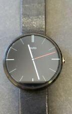 Motorola Moto 360 46mm Smart Watch Works Great Horween Band