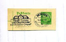 Briefmarke--Mit SONDERSTEMPEL--  München-- 1934 -- 14.6. --