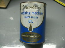 FRANKLIN WASHING MACHINE MECHANISM OIL FOR AUTOMATIC  & WRINGER MACHINES