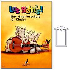 Los geht's - Eine Gitarrenschule für Kinder - NotenKL - ED7981 - 9790001082341