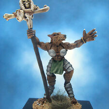 Painted Ral Partha Crucible Miniature Tauren Standard Bearer