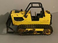 Vintage T-6 Tonka Yellow Bulldozer Pressed Steel Toy  Metal  Diecast