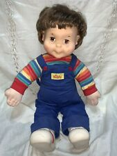 1986 Original Wink 'n Blink MY BUDDY DOLL Vintage Brown Hair & Brown Eyes