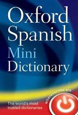 Oxford Espagnol Mini Dictionary Livre de Poche Oxford University Press