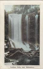 Postcard Loddon Falls near Malmsbury Victoria to private Hasel Summers ANZAC