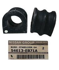2 x Genuine Front Sway Bar Bush Kit for Nissan Navara D40 05 -on' 54613EB71A