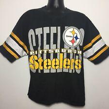 Vintage Pittsburgh Steelers Jersey Shirt 3/4 Length Sleeves (Medium)