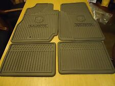2006-11 DODGE DAKOTA CLUB & QUAD FACTORY #5KK34ZJ8AB OEM ALLSEASON FLOOR MATS