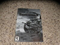 Medal of Honor Breakthrough Expansion Pack Manual - no game