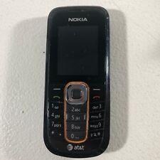 Nokia Model 2600c-2b AT&T Black Bar Phone Good Condition Read Description