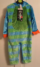 Baby toddler Halloween Blue Wicked monster Costume Age 9-12 Months Tu Brand New