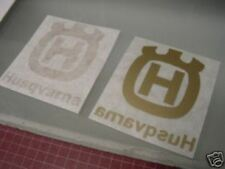 Husky Husqvarna tank decal set Logo Gold 78-82 style for Vintage bikes