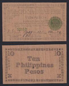 Filippine / Philippine 10 pesos 1944 BB-/VF-  B-09